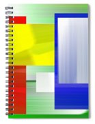 Abstract Number One Spiral Notebook