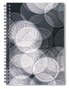 Abstract Photo Of Light Reflecting Spiral Notebook