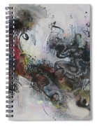 Abstract Seascape00098 Spiral Notebook