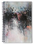 Abstract Seascape00100 Spiral Notebook