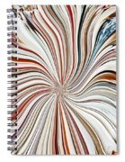Abstract Seashells Spiral Notebook