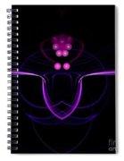 Abstract Seventeen Spiral Notebook