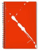 Abstract Splash 7 Spiral Notebook