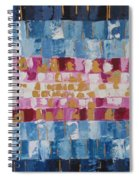 Abstract Sunset I Spiral Notebook