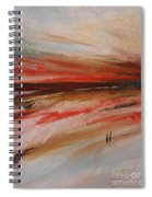 Abstract Sunset II Spiral Notebook