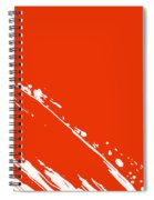 Abstract Swipe Spiral Notebook