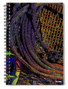 Abstract Textures Spiral Notebook