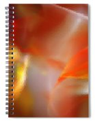 Abstract Under Glass Spiral Notebook
