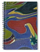 Abstract Xii Spiral Notebook