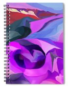 Abstract041712 Spiral Notebook