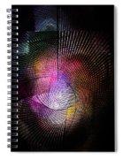 Abstract110111b Spiral Notebook