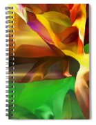 Abstraction 091412 Spiral Notebook