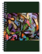 Abstrak Spiral Notebook