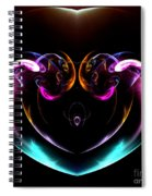 Absttract Seventy-seven Spiral Notebook