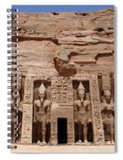 Abu Simbel Egypt 3 Spiral Notebook