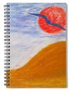 Acceptance Of Freedoms Wings Spiral Notebook