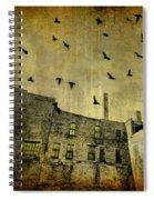 Industrial Acid Urban Sky Spiral Notebook