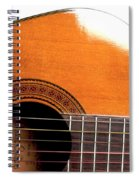 Acoustic Guitar 15 Spiral Notebook