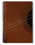 Acoustic Guitar 21 Spiral Notebook
