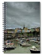 Across Tenby Harbour Spiral Notebook