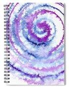 Acrylic Fractals Spiral Notebook