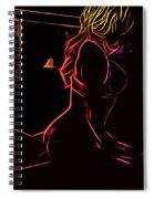Act In The Bedroom Spiral Notebook