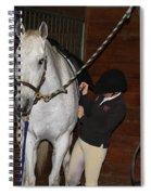 Adjusting The Girth Spiral Notebook