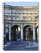 Admiralty Arch In Westminster London Spiral Notebook