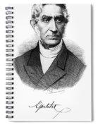 Adolphe Quetelet (1796-1874) Spiral Notebook