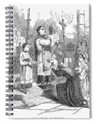 Adoration Of Relics Spiral Notebook