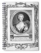 Adrienne Lecouvreur Spiral Notebook