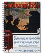 Ads: Phonograph, 1914 Spiral Notebook
