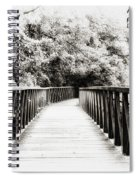 Adversity Is The First Path To Truth Spiral Notebook