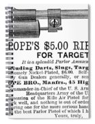 Advertisement: Air Pistol Spiral Notebook