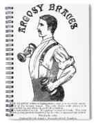 Advertisement: Suspenders Spiral Notebook