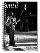 Aerosmith In Spokane 12b Spiral Notebook