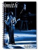 Aerosmith In Spokane 12c Spiral Notebook