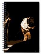 Aerosmith In Spokane 19a Spiral Notebook
