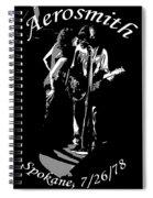 Aerosmith In Spokane 1b Spiral Notebook