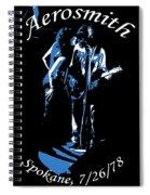 Aerosmith In Spokane 1c Spiral Notebook