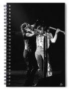 Aerosmith In Spokane 27 Spiral Notebook