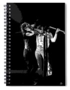 Aerosmith In Spokane 27a Spiral Notebook