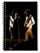 Aerosmith In Spokane 29b Spiral Notebook