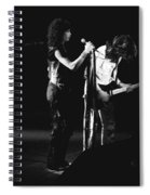 Aerosmith In Spokane 31 Spiral Notebook