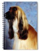 Afghan Hound Spiral Notebook