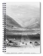 Afghan War 1839-1842. For Licensing Requests Visit Granger.com Spiral Notebook
