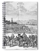 Africa: Benin City, 1686 Spiral Notebook