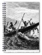 Africa: Exploration Spiral Notebook