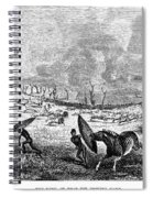 Africa: Hunting Spiral Notebook