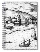 Africa: Portuguese Fort Spiral Notebook